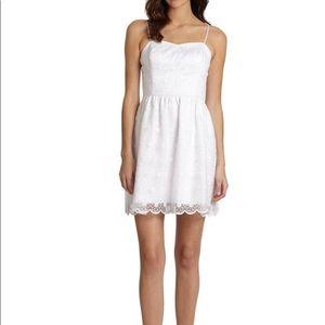 Lilly Pulitzer White Surrey Savvy Organza Dress 4